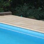 Bazén 4 x 8 DLW Mosaic, bazénový lem Oldwave stone nature
